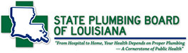 State Plumbing Board of Louisiana Retina Logo